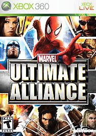 Marvel: Ultimate Alliance - XBOX 360 - Used