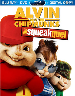 Alvin & The Chipmunks: The Squeakquel - Includes DVD - Blu-ray - Used