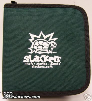 Green Slackers Logo 32 Disc CD Wallet - Music Accessory - New