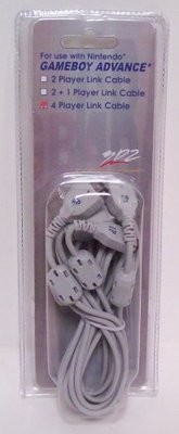 4 Player Link Cable for GBA and GBA SP - Game Accessory - New