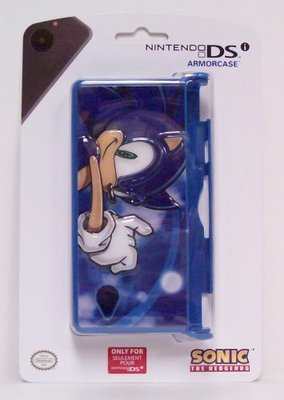 Sonic the Hedgehog Armor Case for DSi - Game Accessory - New