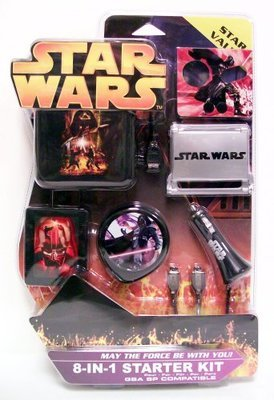 Star Wars 8-in-1 Starter Kit for GBA SP - Game Accessory - New