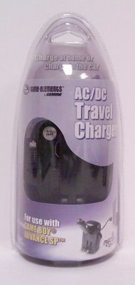 AC/DC Travel Charger for GBA SP - Game Accessory - New