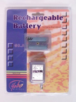 Rechargable Battery Pack for GBA - Game Accessory - New