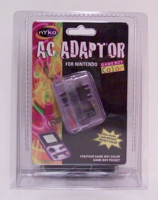 Nyko AC Adapter for Game Boy Color and Game Boy Pocket - Game Accessory - New