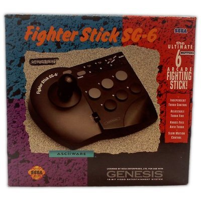 Fighter Stick SG-6 for Genesis - Game Accessory - Refurbished
