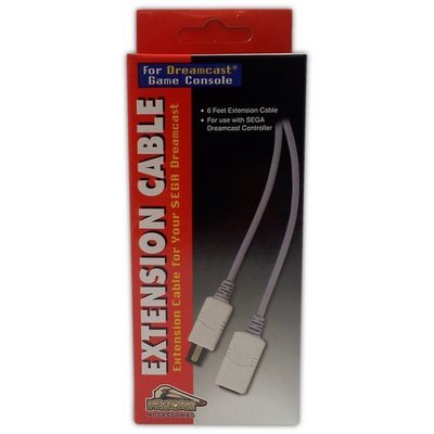 Pelican Controller Extension Cable for Dreamcast - Game Accessory - New
