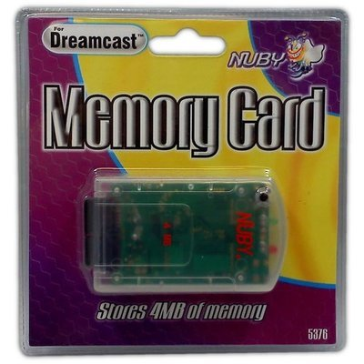 Nuby Memory Card for Dreamcast - Game Accessory - New