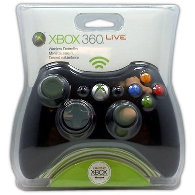 Microsoft Wireless Controller for XBOX 360 (Black) - Game Accessory - New
