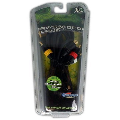 AV/S-Video Cable for XBOX - Game Accessory - New