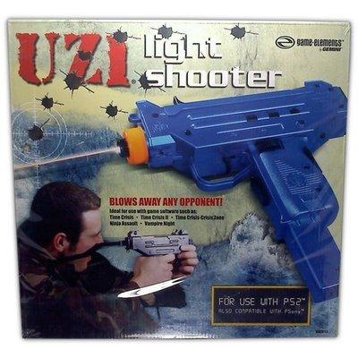UZI Light Gun for PS2 - Game Accessory - New