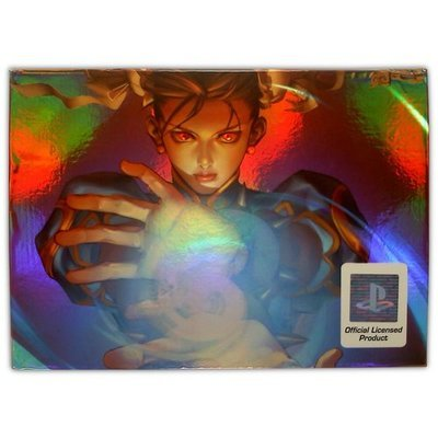 Street Fighter 15th Anniversary Controller (Chun Li) for PS2 - Game Accessory - New