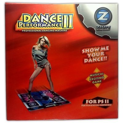 Dance Performance II Dance Pad for PS2 - Game Accessory - New