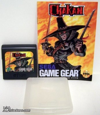 Chakan with manual - Game Gear - Used