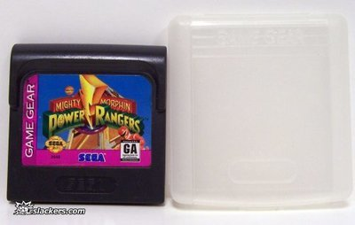 Mighty Morphin Power Rangers - Game Gear - Used