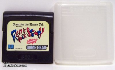 Quest for the Shaven Yak Starring Ren & Stimpy - Game Gear - Used