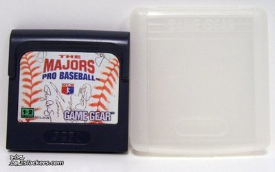 The Majors Pro Baseball - Game Gear - Used