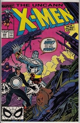 Uncanny X-Men #248 Near Mint - Comics - Used
