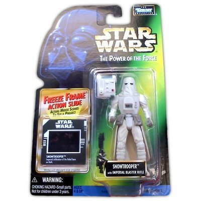 Star Wars Power of the Force Snowtrooper - Action Figure - New