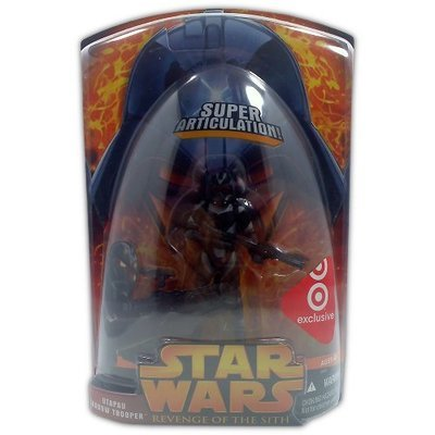Star Wars Episode III UtaPau Shadow Trooper Target Exclusive - Action Figure - New