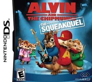 Alvin & Chipmunks: Squeakquel - DS - Used