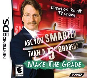 Are You Smarter Than A Fifth Grader Make The Grade - DS - Used