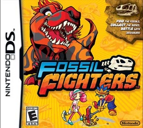 Fossil Fighters - DS - Used