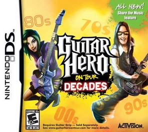 Guitar Hero Decades (software only) - DS - Used