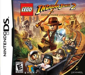 Lego Indiana Jones 2 The Adventure Continues - DS - Used