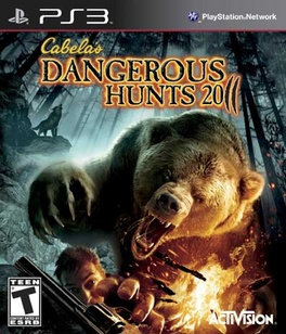 Cabelas Dangerous Hunts 2011 - PS3 - Used