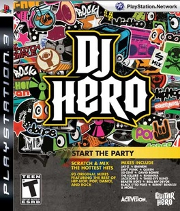 DJ Hero (sw) - PS3 - Used