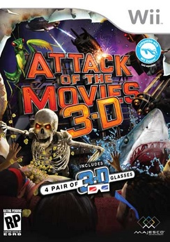 Attack Of The Movies 3D - Wii - Used