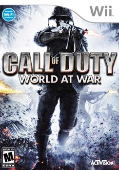 Call Of Duty: World At War - Wii - Used