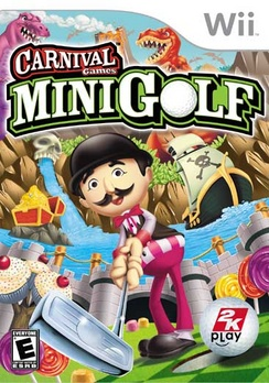 Carnival Games Mini Golf - Wii - Used