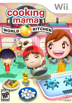 Cooking Mama World Kitchen - Wii - Used