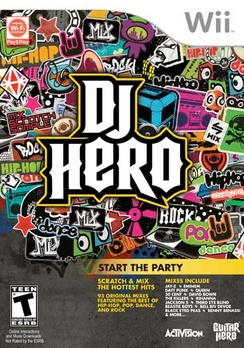 DJ Hero (sw) - Wii - Used
