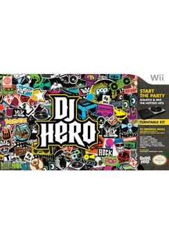 DJ Hero Bundle - Wii - Used