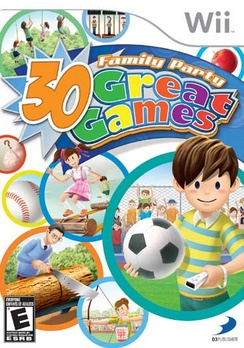 Family Party: 30 Great Games - Wii - Used