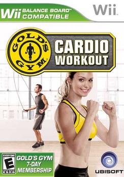 Golds Gym Cardio Workout - Wii - Used