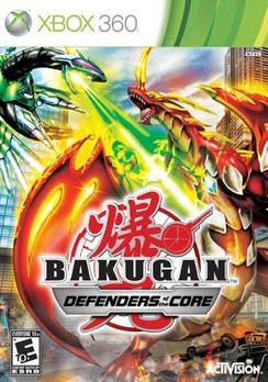 Bakugan 2: Defenders Of The Core - XBOX 360 - Used