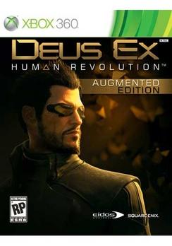 Deus Ex Human Revolution - XBOX 360 - Used