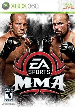 EA Sports MMA (Mixed Martial Arts) - XBOX 360 - Used