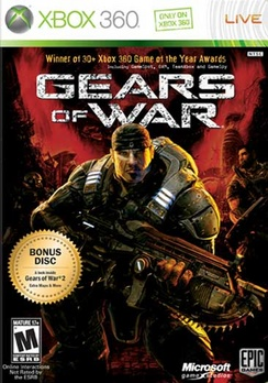 Gears Of War (w/Bonus Disc Preview Of GOW 2) - XBOX 360 - Used