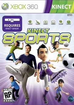 Kinect Sports - XBOX 360 - Used