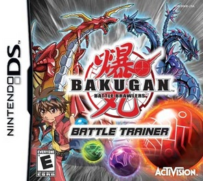 Bakugan 2: Battle Trainer - DS - Used