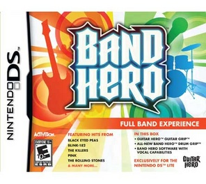 Band Hero Bundle - DS - Used