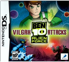 Ben 10: Alien Force Vilgax Attacks - DS - Used