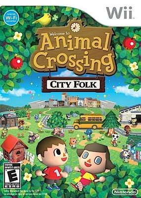 Animal Crossing: City Folk - Wii - Used