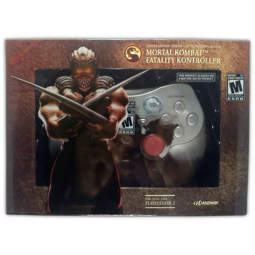 Mortal Kombat Fatality Kontroller (Baraka) for PS2 - Game Accessory - New