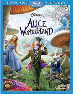 Alice in Wonderland - DVD + Blu-ray - used